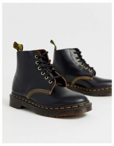 Dr Martens Ambrose archive leather boots in black
