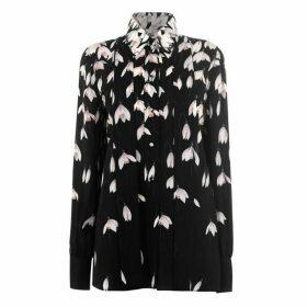 Valentino Silk Flower Blouse