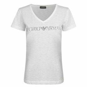 Emporio Armani Short Sleeve Logo T Shirt