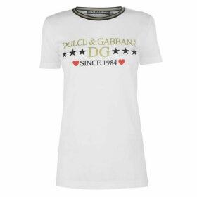 Dolce and Gabbana 1984 Logo T Shirt