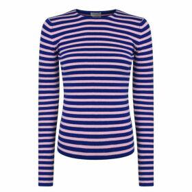By Malene Birger Torris Striped Stretch Long Sleeve Top