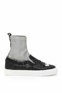 Chiara Ferragni Flirting Sock Sneakers