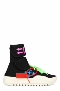 Off-White Knitted Sock-style Sneakers