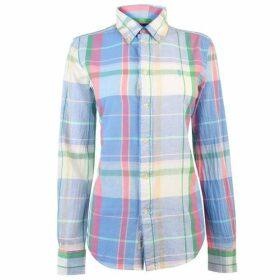 Polo Ralph Lauren Polo Georgia Chalk Long Sleeve MenS Shirt