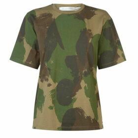 Victoria Beckham Camo T Shirt