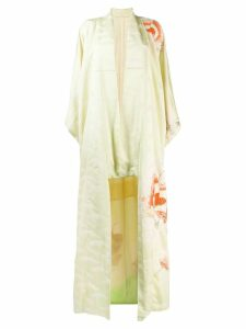 A.N.G.E.L.O. Vintage Cult 1970's butterfly embroidered kimono - Green