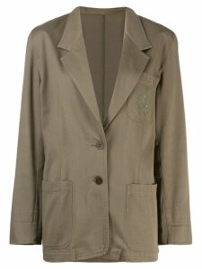 Fendi Pre-Owned 1980's jacket - Green