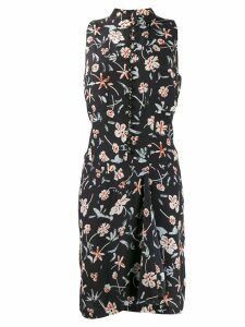 Chanel Pre-Owned 2000's floral short dress - Black