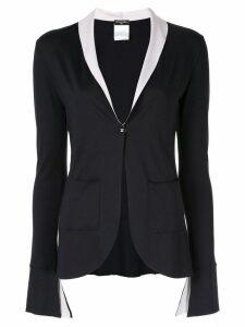 Chanel Pre-Owned long sleeve light jacket - Black