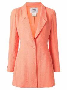 Chanel Pre-Owned long sleeve jacket - ORANGE