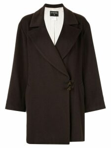 Chanel Pre-Owned cashmere coat - Brown