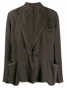 Lanvin Pre-Owned 2003 loose-fit jacket - Brown