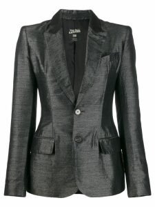 Jean Paul Gaultier Pre-Owned 2000's fitted blazer - Grey