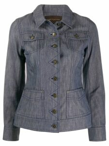 Louis Vuitton Pre-Owned 2000's denim jacket - Blue