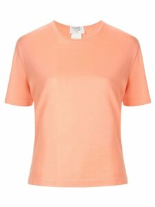 Chanel Pre-Owned Short Sleeve Tops - ORANGE