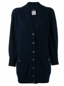 Chanel Pre-Owned '2009 cashmere cardigan - Purple