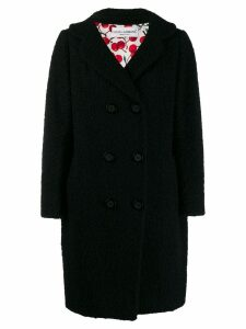 Dolce & Gabbana Pre-Owned '2000s double-breasted coat - Black