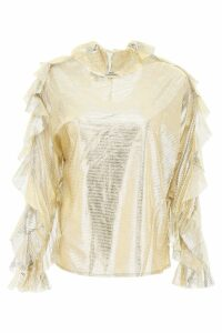 In The Mood For Love Jessica Lamé Blouse