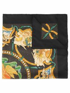 Hermès Pre-Owned Logos scarf - Black