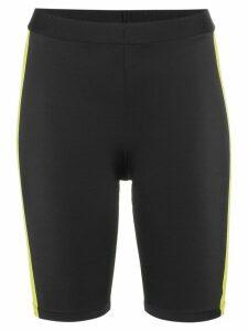 Fantabody contrast stripe cycling shorts - Black