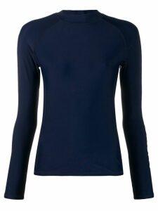 Perfect Moment stretch rash vest - Blue