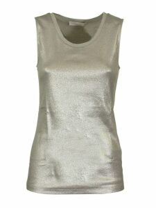 Fabiana Filippi Metallic Effect Tank Top