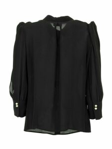 Elisabetta Franchi Celyn B. Blouse With Bows On The Shoulders