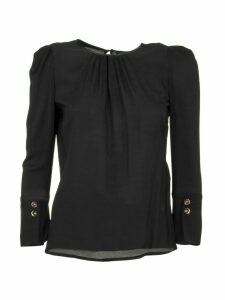 Elisabetta Franchi Celyn B. Short Blouse With Gathers