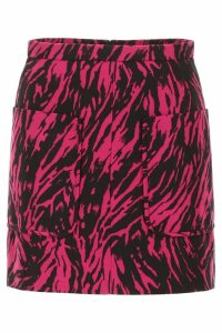 N.21 Zebra Print Mini Skirt
