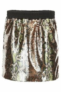 N.21 Sequins Mini Skirt