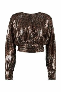 MSGM Sequined Blouse