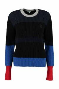 Kenzo Striped Crew-neck Pullover