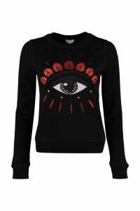 Kenzo Kenzo Eye Embroidery Cotton Sweatshirt