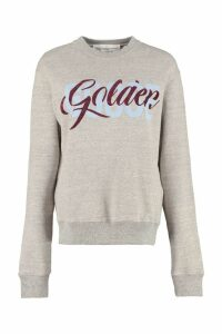 Golden Goose Cotton Crew-neck Sweatshirt With Logo