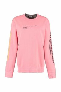 Marcelo Burlon Printed Cotton Sweatshirt