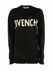 Givenchy *sweater With Logo In The Middle/maglia Jacquard