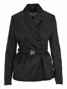 Prada Double Breast Belted Jacket