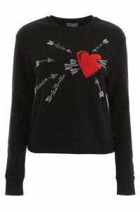RED Valentino Printed Sweatshirt
