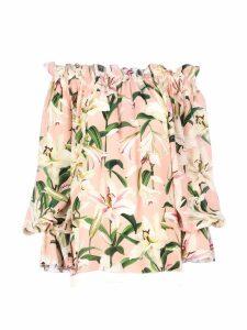 Dolce & Gabbana Lily Silk Blouse/gigli Silk