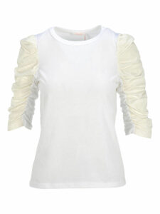 See By Chloe Gathered Sleeve T-shirt