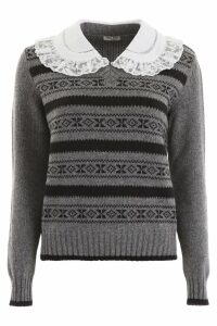 Miu Miu Pullover With Collar