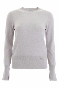Salvatore Ferragamo Pullover With Logo Pin