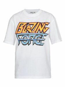 McQ Alexander McQueen T Shirt Blazing Force Print