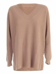 Max Mara Sweater Paloma V Neck W/slits