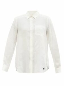 Loup Charmant - Falco Tiered Cotton-voile Skirt - Womens - Green