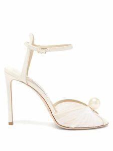 Loretta Caponi - Smocked Swiss Dot Cotton Poplin Dress - Womens - Black