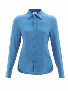 Le Sirenuse, Positano - Barbara Fish Tail-print Cotton Dress - Womens - Pink Multi
