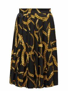 Belize - Eliza Checked Tie-waist Cotton Dress - Womens - Orange