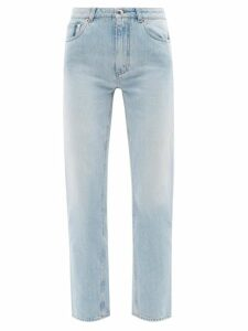 Belize - Lily Tie Waist Linen Blouse - Womens - Denim