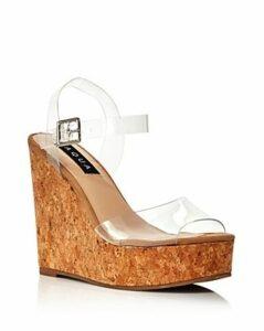Aqua Women's Cute Wedge Heel Sandals - 100% Exclusive